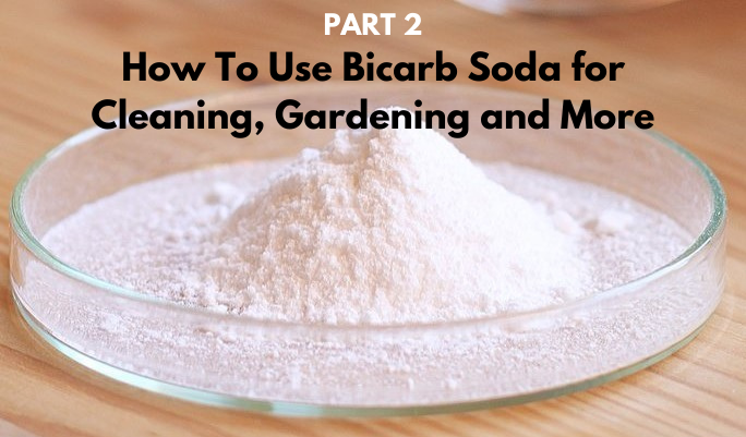 Bicarb PART 2: How To Use Bicarbonate of Soda for Household Cleaning, Gardening and More