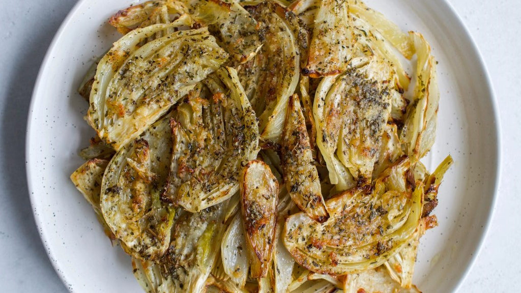 Seasonal Recipe: Roasted Fennel With Garlic and Herbs
