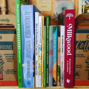 Permaculture and Growing Books In-store