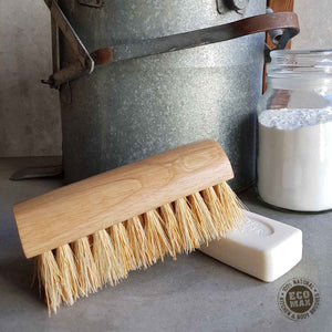 Natural Fibre Household Scrub Brush