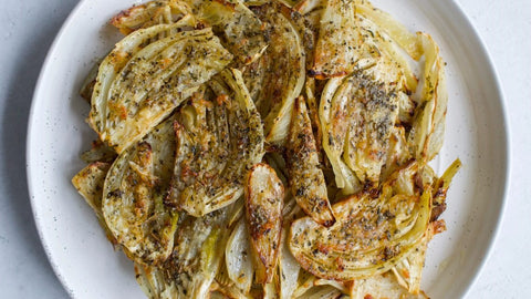 Roasted Fennel With Garlic and Herbs