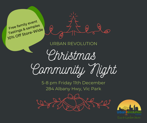 Christmas Community Night 10% Off Store-wide
