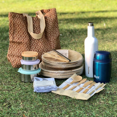 Plastic free picnic products