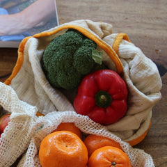 The Swag fresh produce bags for veggie storage