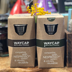 Stainless steel coffee pods - WayCap