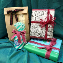 Gift boxes using recycled materials