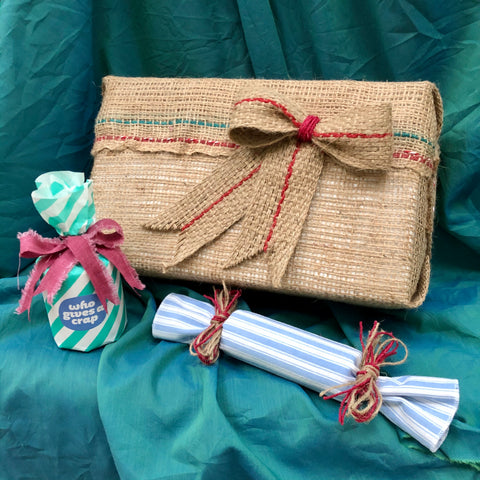 urban revolution eco friendly wasteless gift wrapping