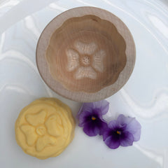 Wooden butter mould small