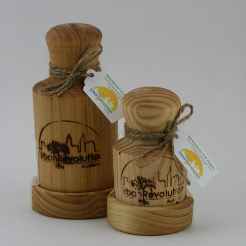 Rippa Woodturning newspaper pot makers large and small