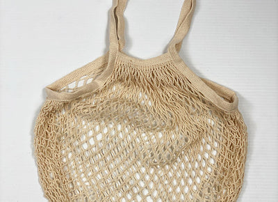 Classic 100% Cotton String Bag - Various Colours Natural