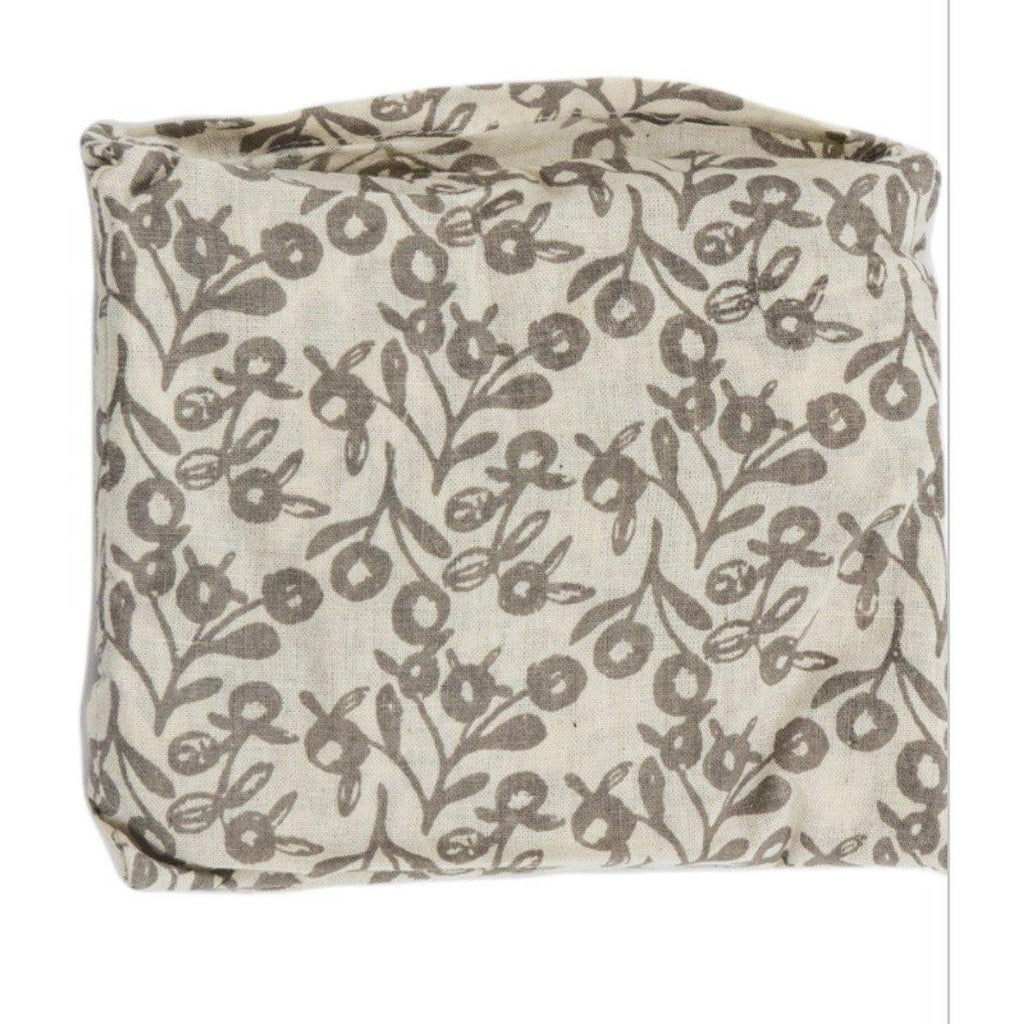 100% Cotton Flora Bag - Lilly Pilly Taupe