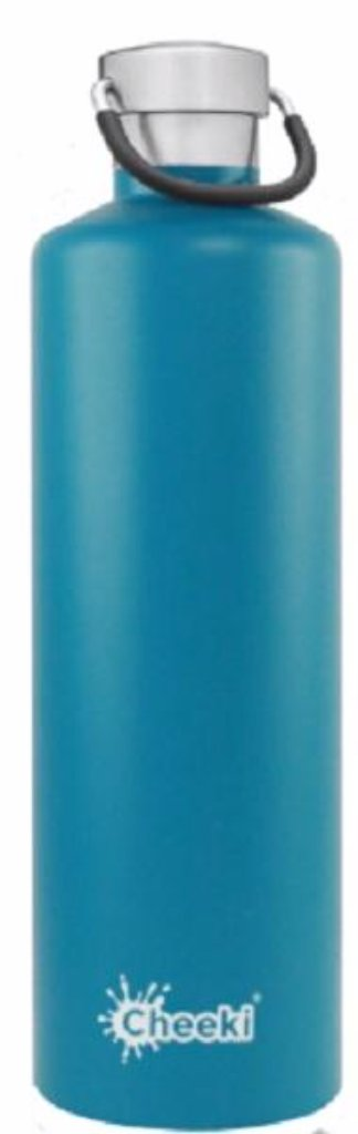 CHEEKI Classic Insulated Bottle - Topaz - 1L