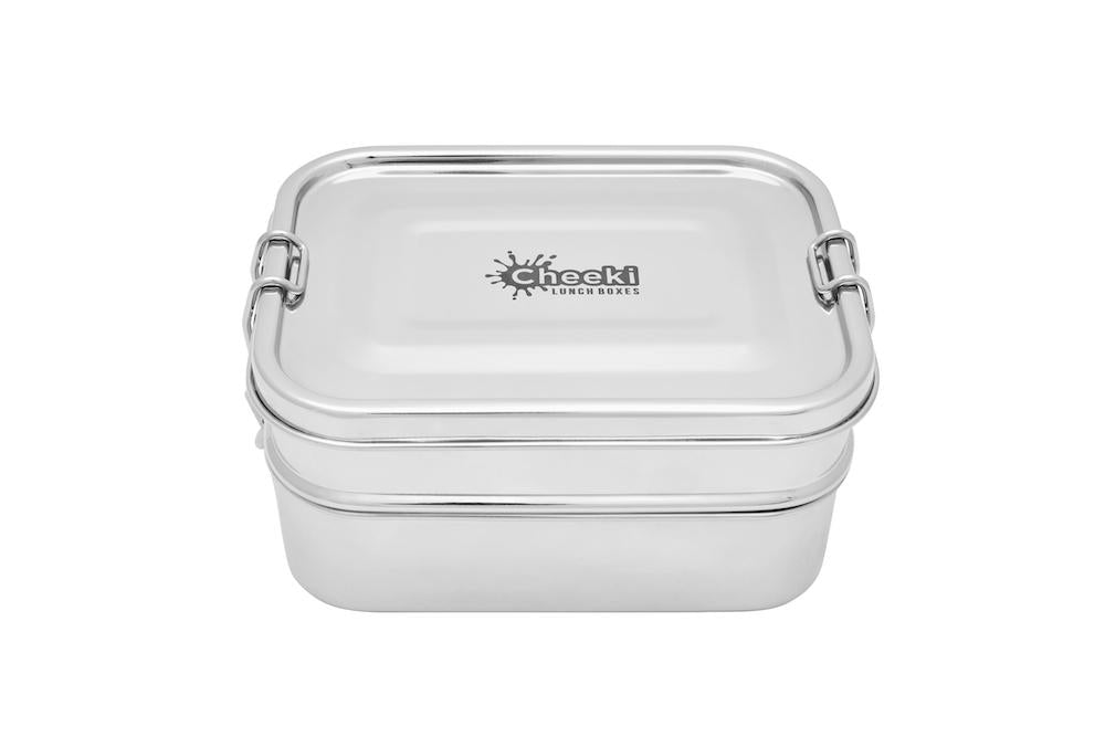 Lunch Box Double Stack - 1L - Stainless Steel