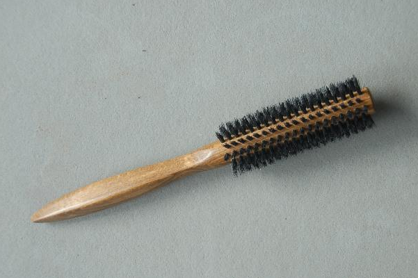 Wooden Round Hair Brush