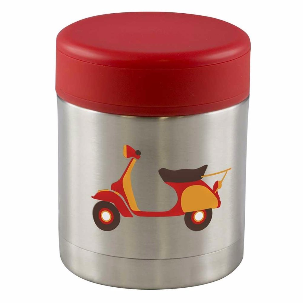 Insulated Food Jar, 350ml  - Scooter Design