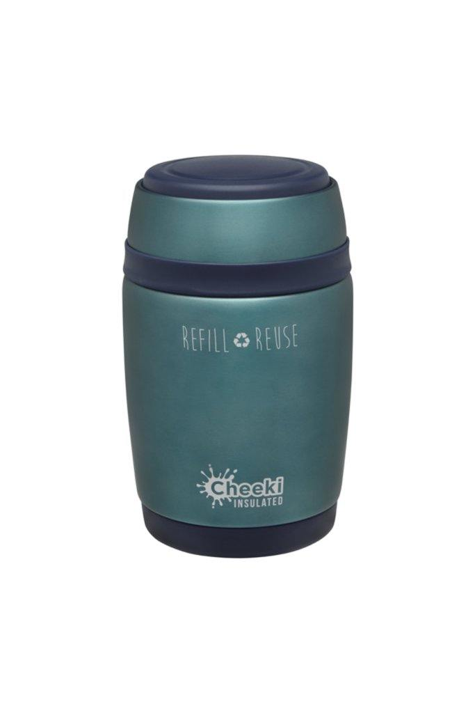 Cheeki Insulated Food Jar - Blue
