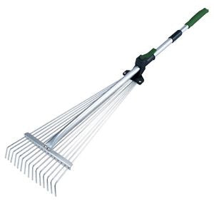 Steel Garden Rake - Adjustable