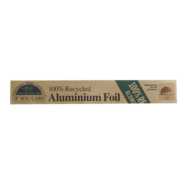 100% Recycled Aluminium Foil - If You Care