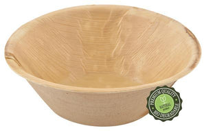 "Palm Leaf 5"" Round Bowls - Pack of 25"