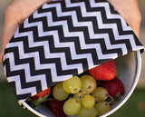 Beeswax Food Wraps Being Used to Cover Bowls