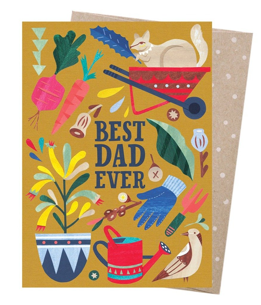 Earth Greetings - Greeting Cards - Best Dad Gardener