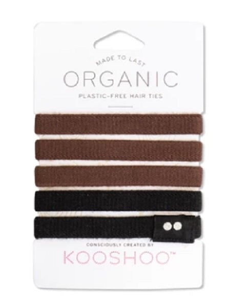 KOOSHOO - Organic Hair Ties