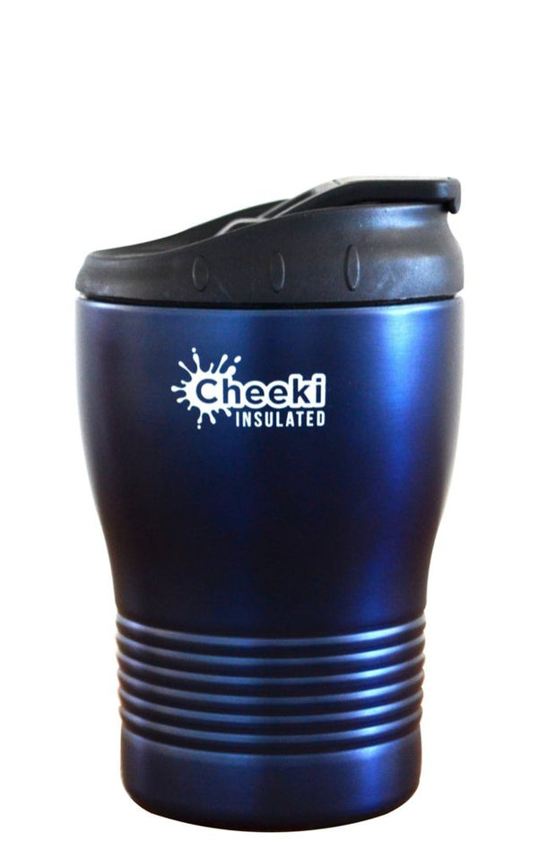 Cheeki Coffee Cup 240ml - Spill Proof and Insulated (Ocean)