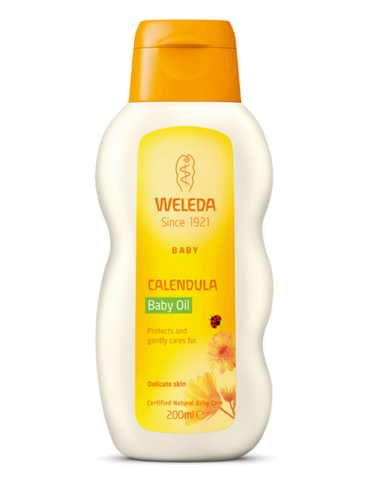 Calendula Baby Oil, 200ml