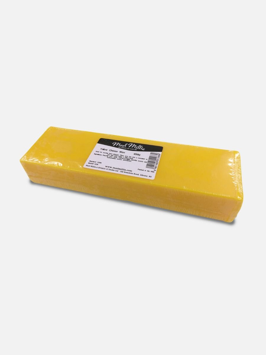 Mad Millie Yellow Cheese Wax - 450g