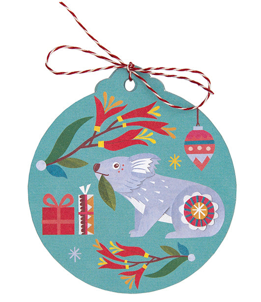 Christmas Gift Tag - Nature's Gifts by Andrea Smith