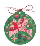 Christmas Gift Tag - Flame Robin by Andrea Smith