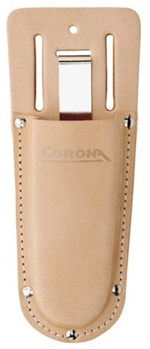 Corona Leather Pouch with Steel Belt Clip