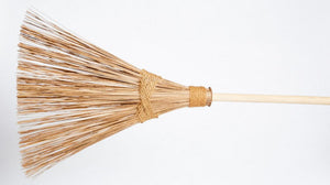 Eco Max Coconut Palm Broom or Rake - Coconut Palm Frond and String