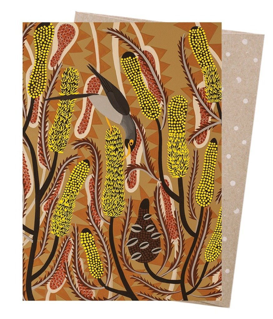 Earth Greetings - Greeting Cards - Candlestick Banksia
