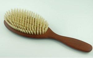 Pearwood Hair Brush Light Bristle