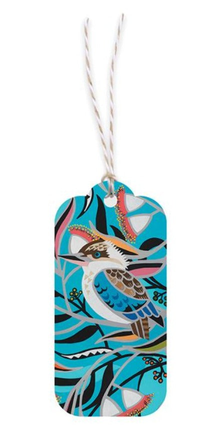 Earth Greetings Gift Tags - Kookaburra Gum