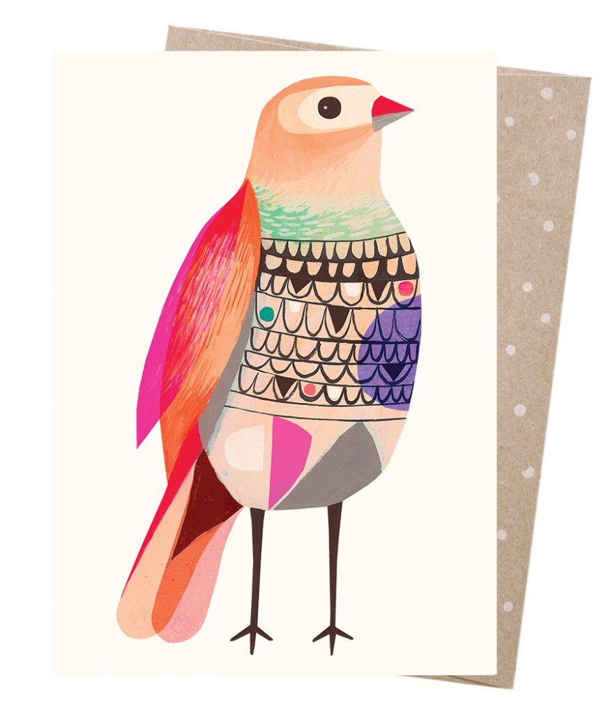 Earth Greetings - Greeting Cards - Beautiful Firetail