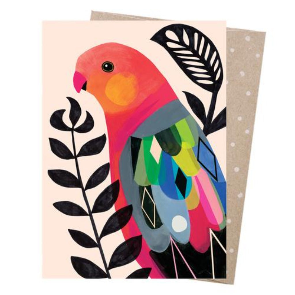 Earth Greetings - Greeting Cards - King Parrot