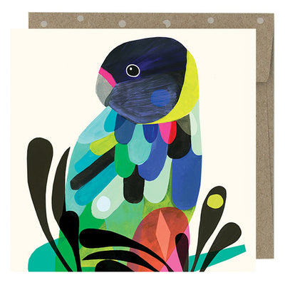 Earth Greetings Mini Cards - Twenty Eight Parrot