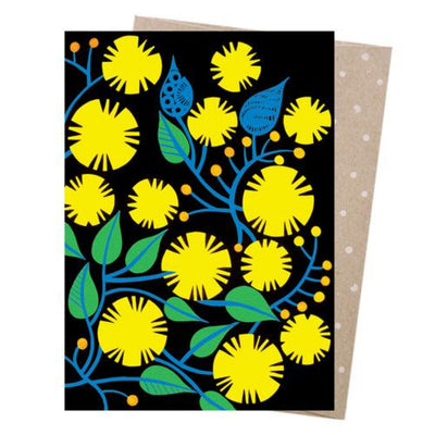 Earth Greetings - Greeting Cards - Golden Wattle