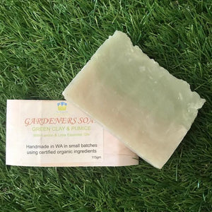 Gardeners Soap - Green Clay and Pumice - The Family Hub