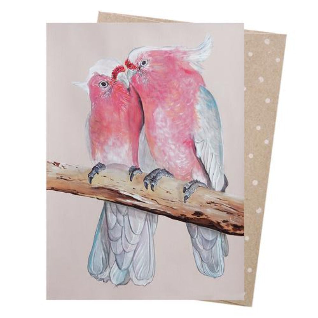 Earth Greetings - Greeting Cards - Major Mitchell Pair