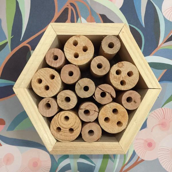 Hexagon Insect Hotel - Wood