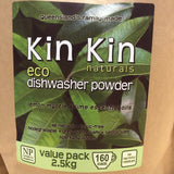 Kin Kin dishwasher powder, label only