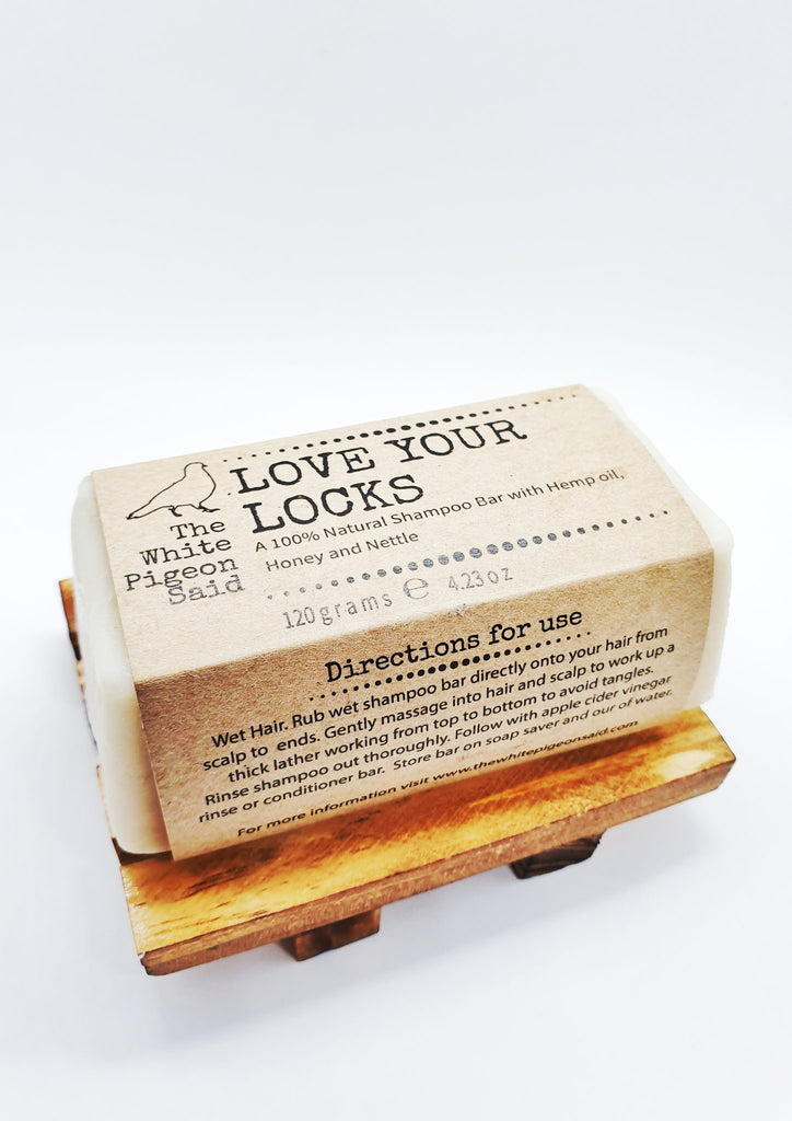 Love Your Locks Hemp, Honey and Nettle Shampoo Bar, 120g