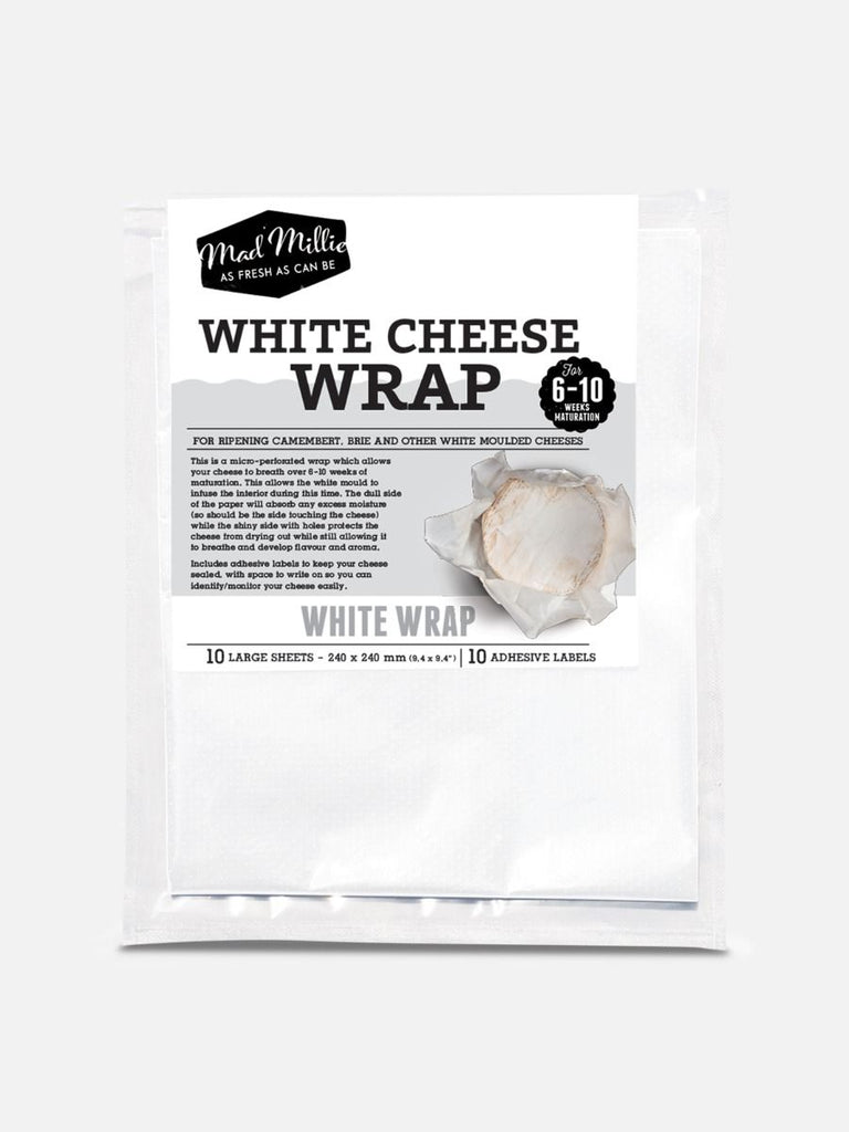 White Cheese Wrap, from Mad Millie