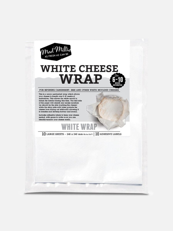 White Cheese Wrap, 10 sheets