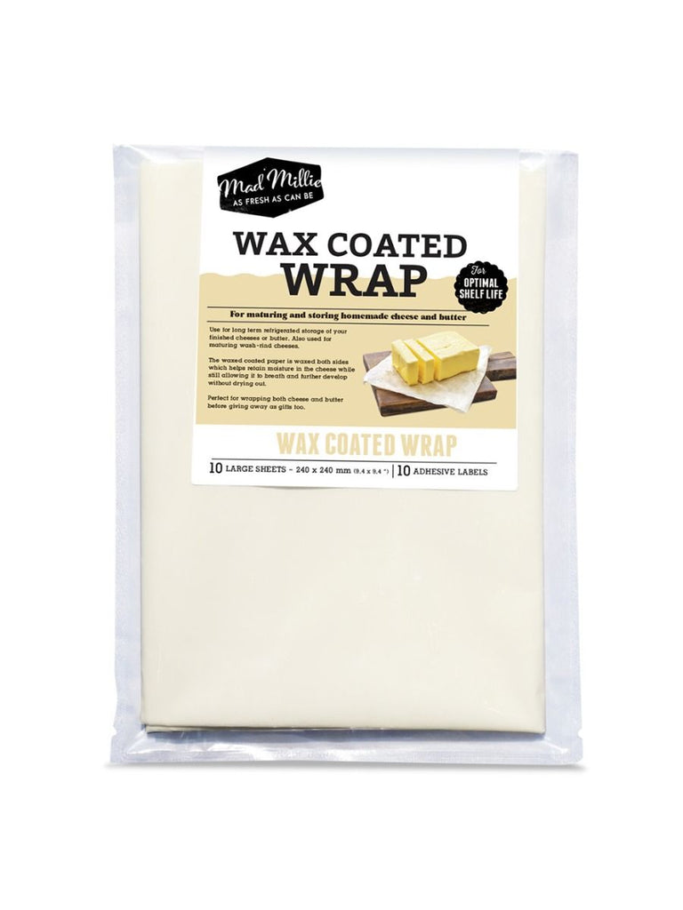 Wax Coated Cheese Wrap from Mad Millie (240 x 240mm)