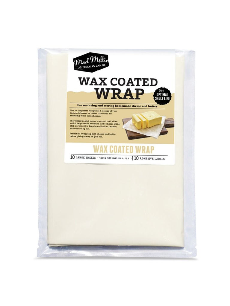 Wax Coated Cheese Wrap from Mad Millie (480 x 480mm)