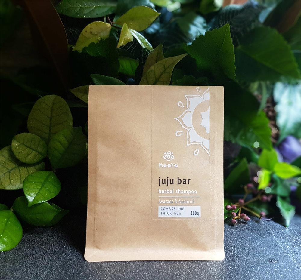 Noora Juju Shampoo Bar - Coarse and Thick Hair